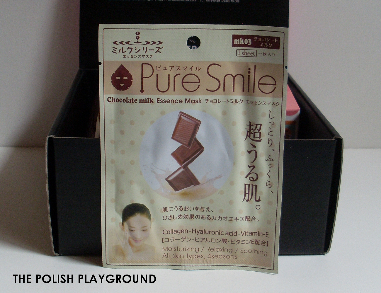 Memebox Special #11 Cacao Unboxing - Pure Smile Essence Mask Chocolate Milk