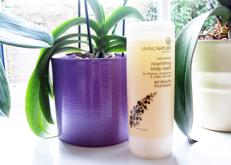Living Nature Nourishing Body Wash review