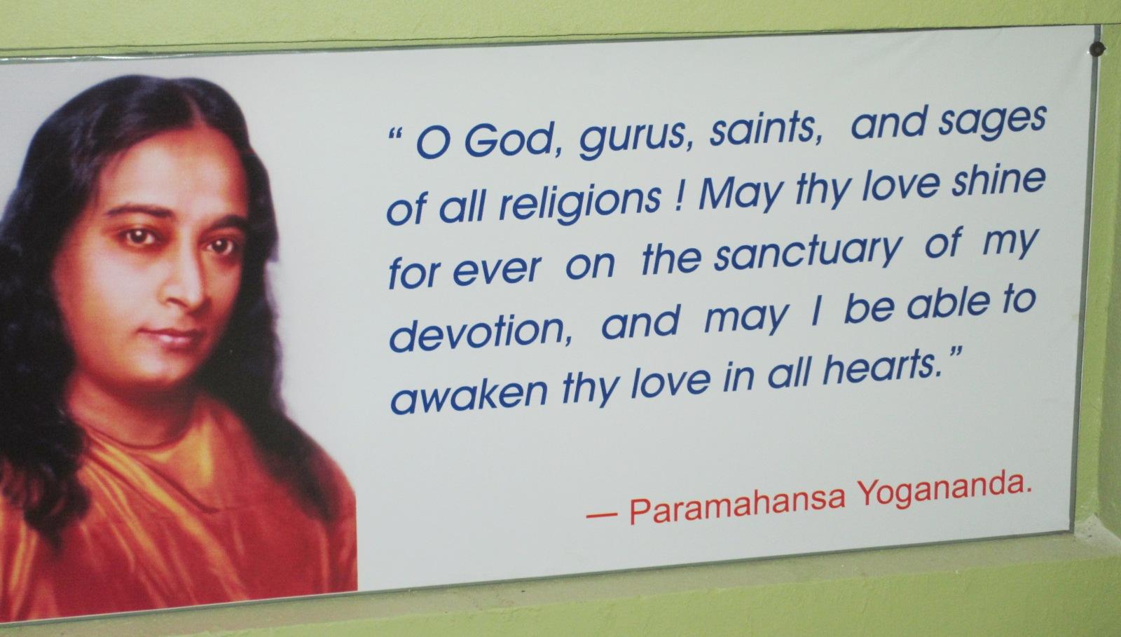 Paramahansa Yogananda Quotes Quotesgram