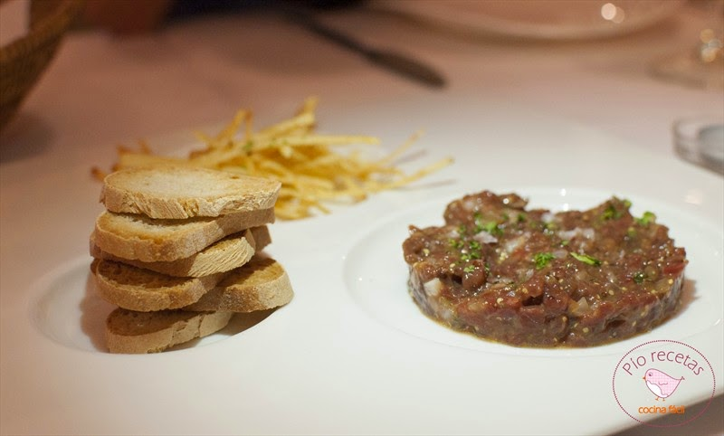 Steak tartar en Magoga