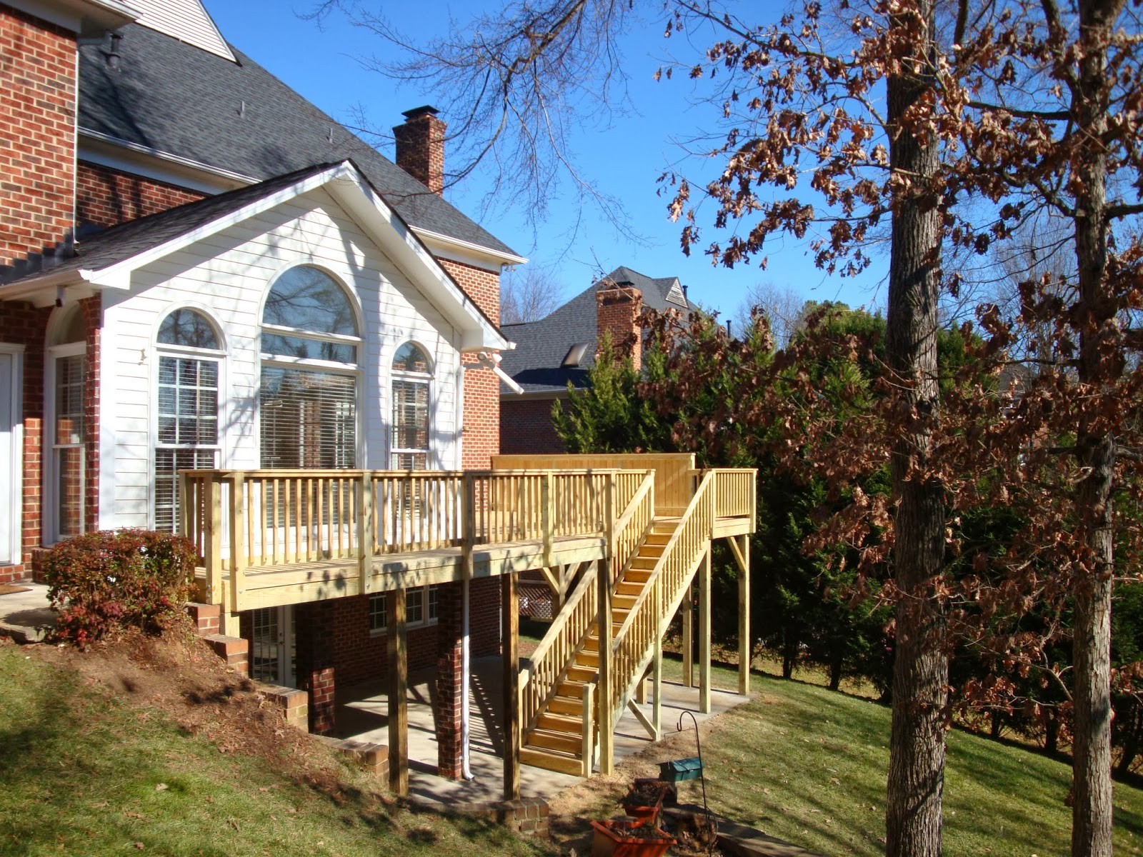 Deck Project by Southern Home Improvement / Porch-Life Charlotte, NC