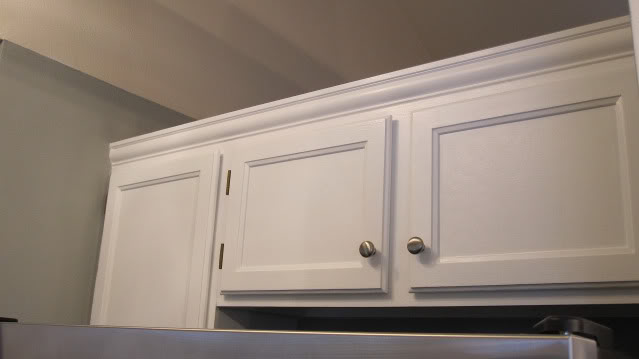 Add Crown Molding To Existing Kitchen Cabinets. How To Add Crown ...