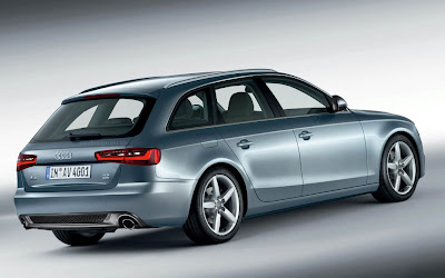 Audi A4 Facelift back view