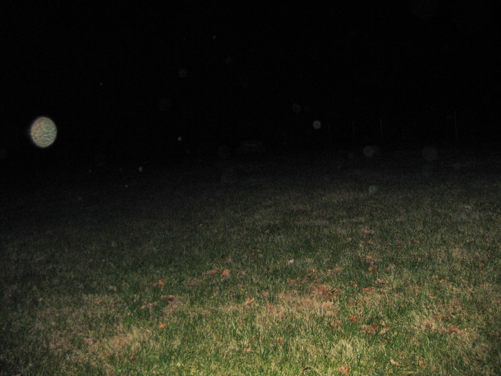 An orb at Polksville Cemetery, taken by Paige Wagers, ...
