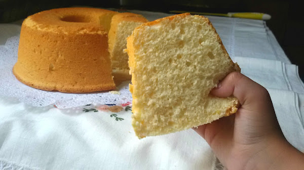 Bizcocho de yogur de lim n muy esponjoso cocinar en casa - Bizcocho de limon esponjoso ...