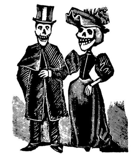 Traditional Dia De Los Muertos Day Of The Dead Art