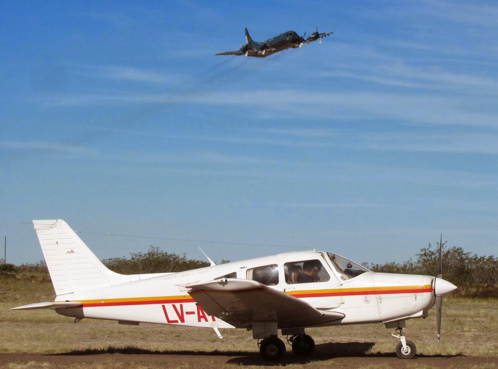 La EA6E presente en el 8vo. Encuentro Internacional de Aeroclubes