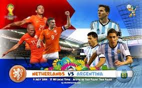 اهداف مباراة هولندا والارجنتين بث مباشر اليوم الأربعاء 9/7/2014