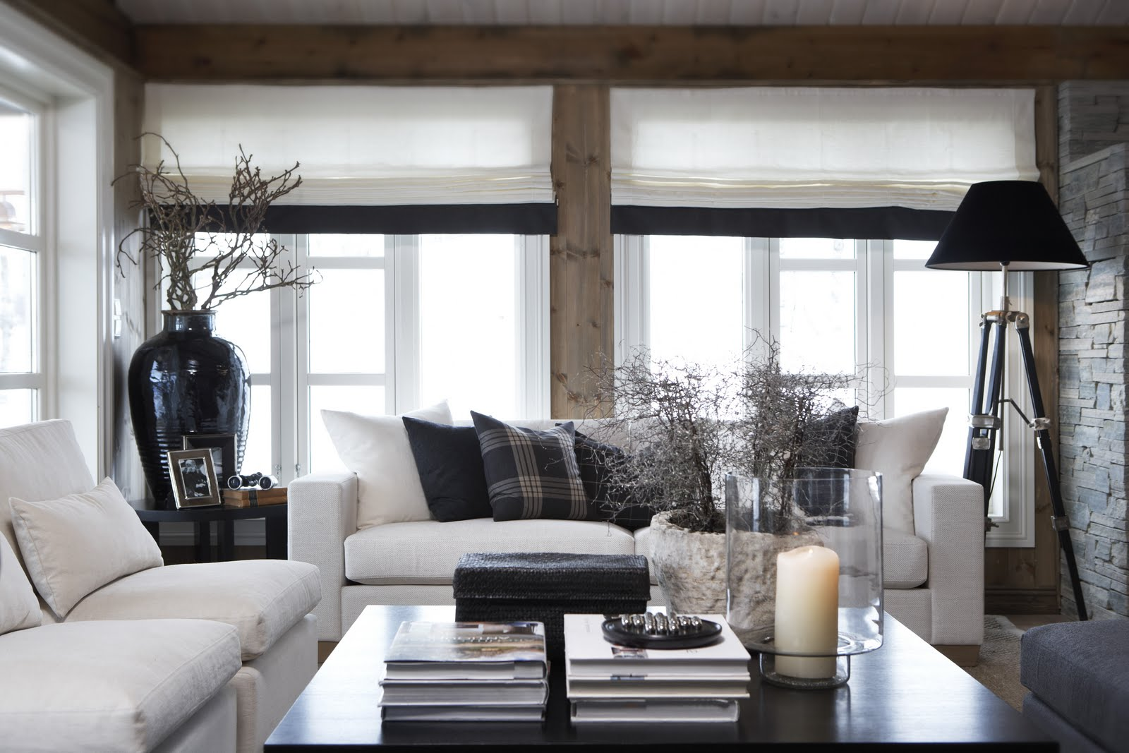 Rustic Cabin Look for Fall
