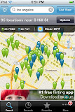 Wi-Fi Finder map