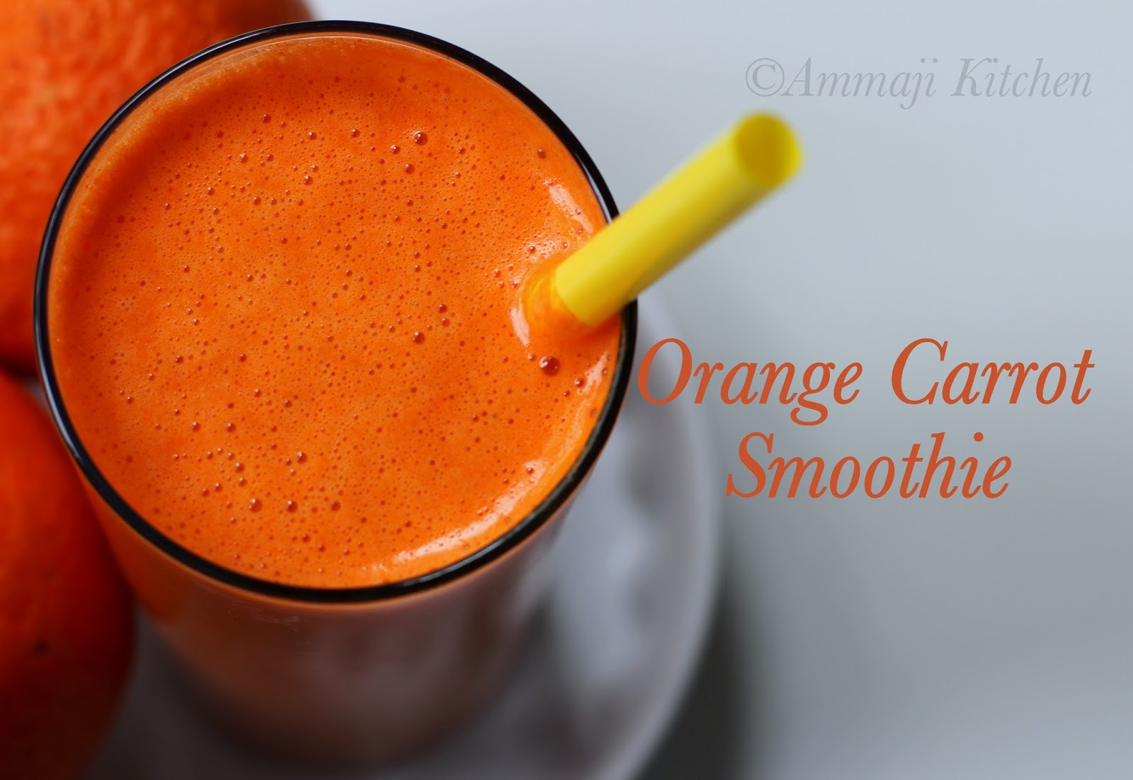Orange Carrot Smoothie