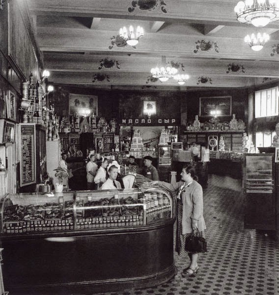 старинные фотографии Елисеевского магазина на Невском