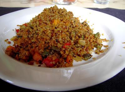 quinoa con soja