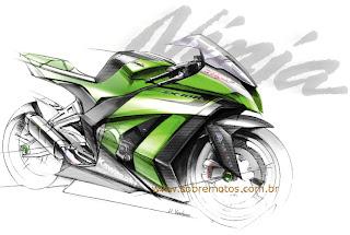 Desenhos Preto e Branco motos da honda yamaha e bmw Colorir