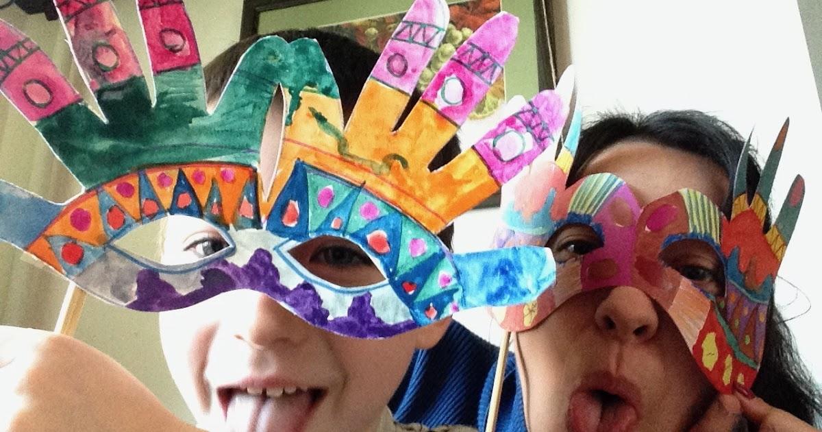 Весёлые маски своими руками