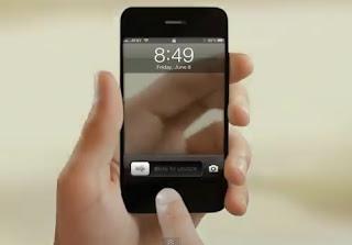 Iphone 5 dengan Konsep Smartphone Transparan