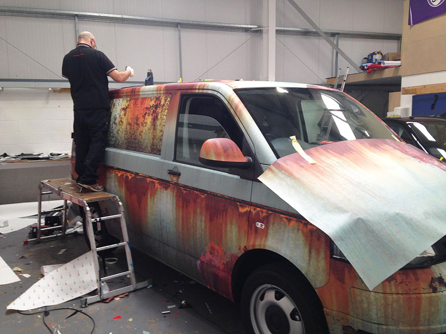 05-Clyde Wraps-Car-Vinyl-Wrap-with-the-Rust-Treatment-www-designstack-co