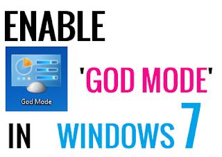 Enable God Mode In Windows 7 - ITTWIST