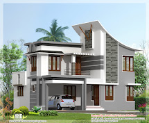 Front Elevation Modern House - Home Decorating Ideas