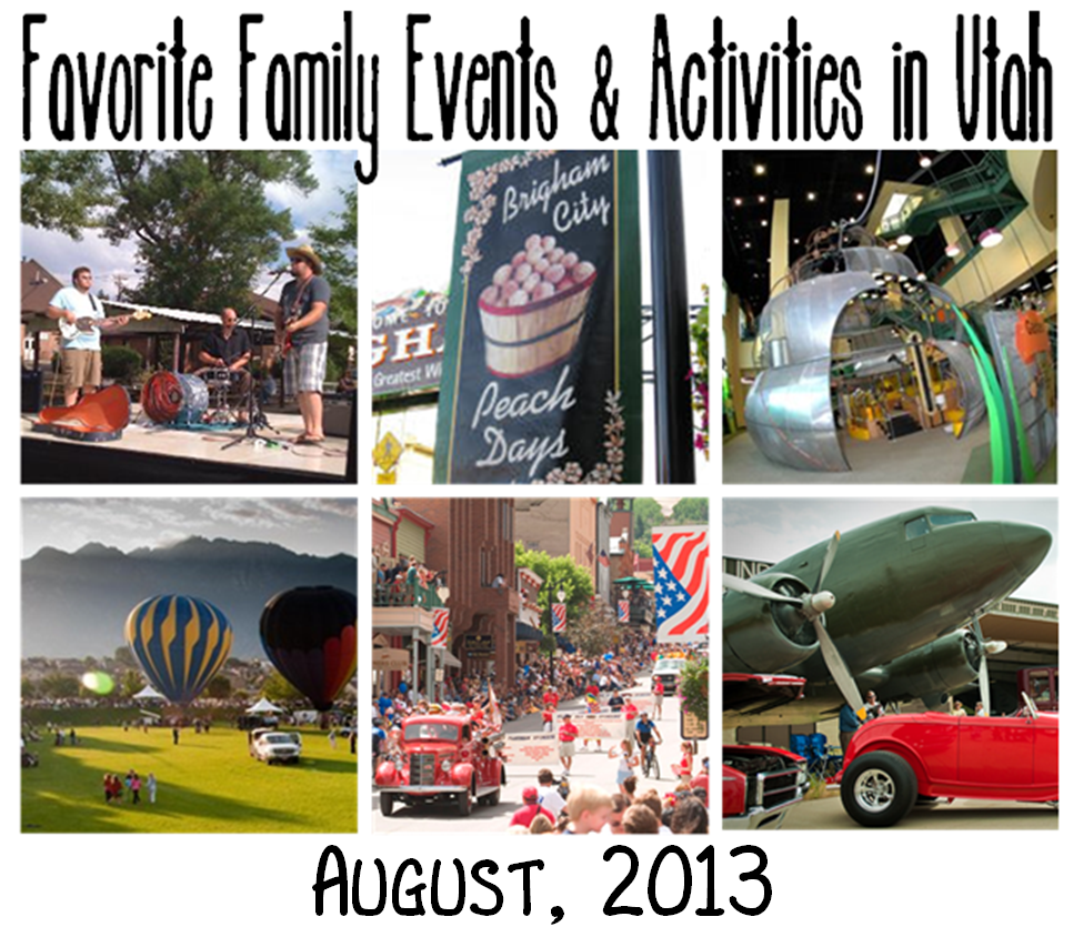 Family Activities: Favorite FREE Family Events & Activities In Utah: August