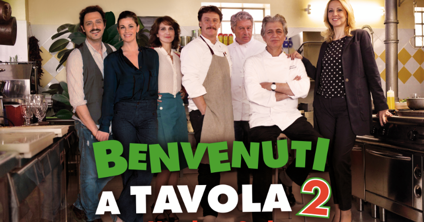 Benvenuti a tavola 2 ritorna l 39 11 aprile pomodori verdi fritti - Benvenuti a tavola 2 dvd ...