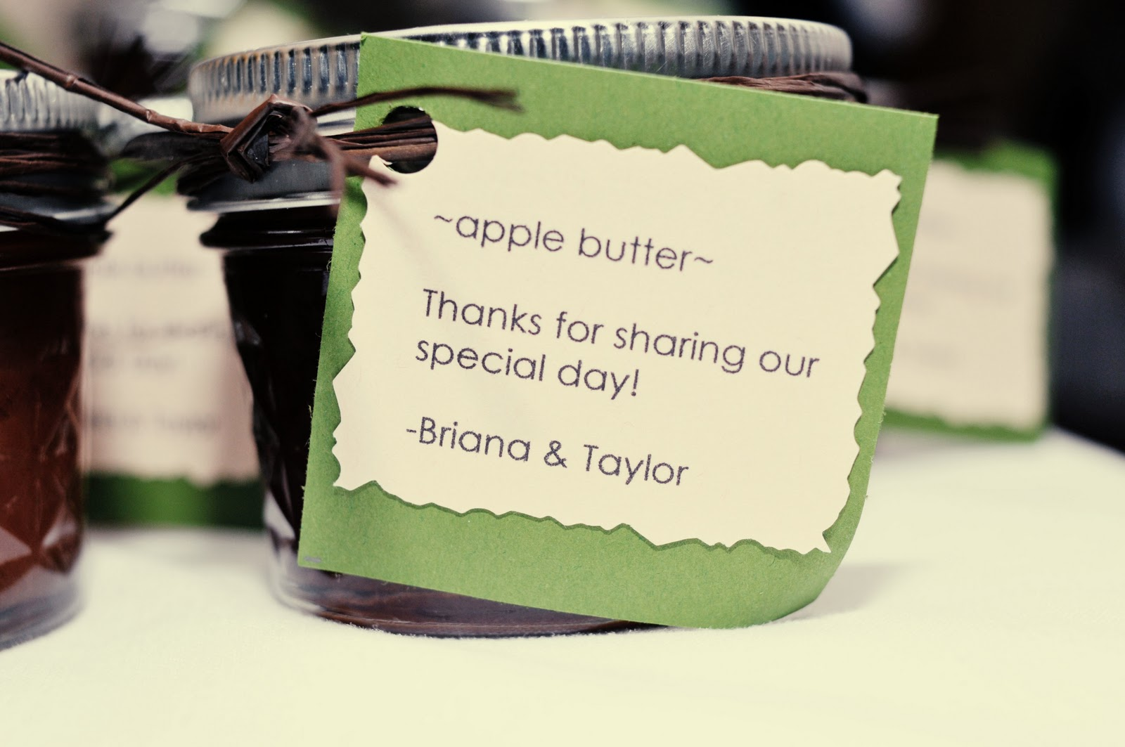 Awesome Apple Butter Wedding Favors Ideas - Styles & Ideas 2018 ...