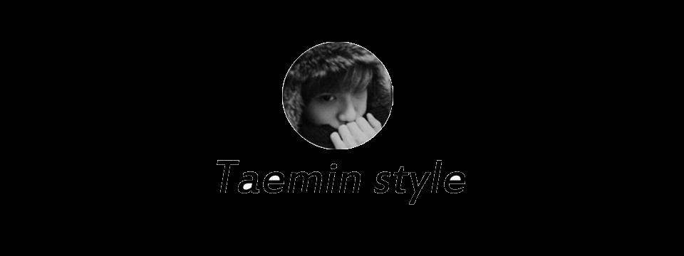 Taemin style