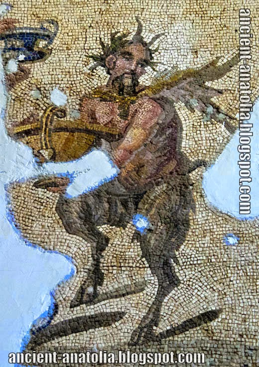 Pan, Antioch mosaic, Antakya Archaeological Museum