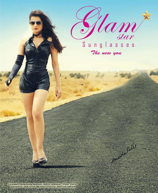 Amisha Patel In Glamstar Sunglasses Pics