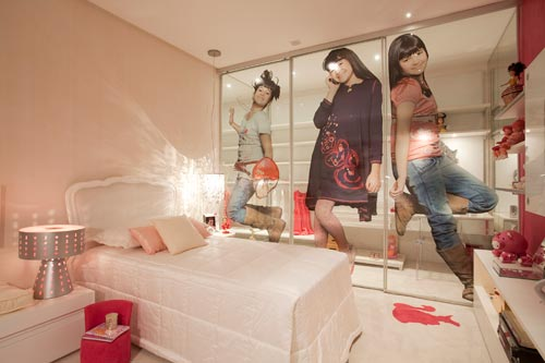 Blog Beleza Rosa Decoração quartos femininos teen ~ Quarto Rosa Com Oncinha