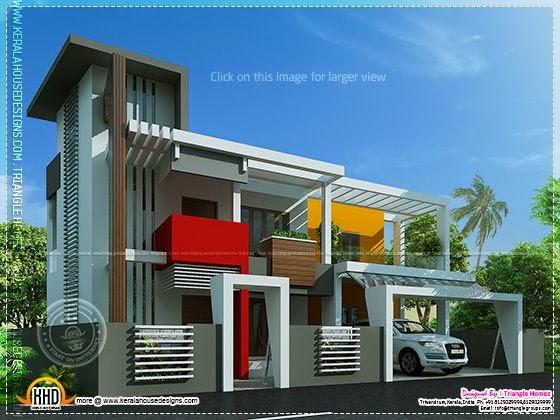 Unique contemporary house design