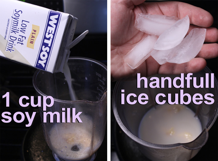 how to make soy milk into cream