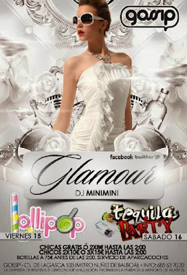 Lollipop party y tequila party en glamour