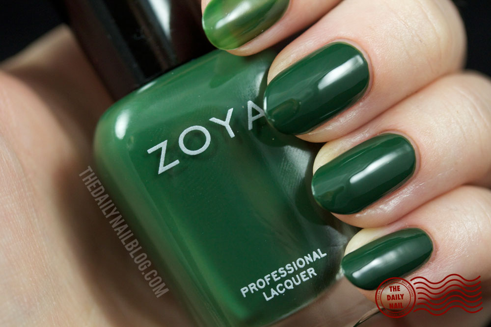 Zoya Cashmere Hunter Swatch Fall 2013 with bottle