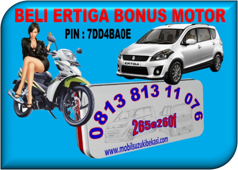 Beli Suzuki Ertiga Bonus Motor Shooter. RIDWAN 0813 813 11 076 / PIN : 265e260f / 7DD4BA0E.www.mobilsuzukibekasi.com