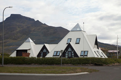 Report from the interior bless bless iceland for Pyramid home plans