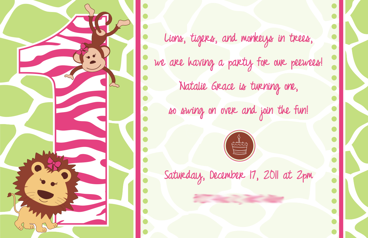 Project of the Week: Baby\'s 1st birthday invite and cupcake stand ...