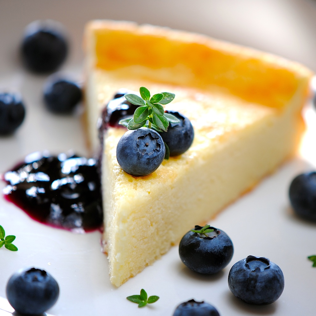 JULES FOOD...: Lemon Goat Cheese Cake ...Incredibly delicious