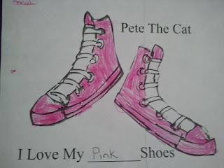 in miss beth s class pete the cat i my white shoes