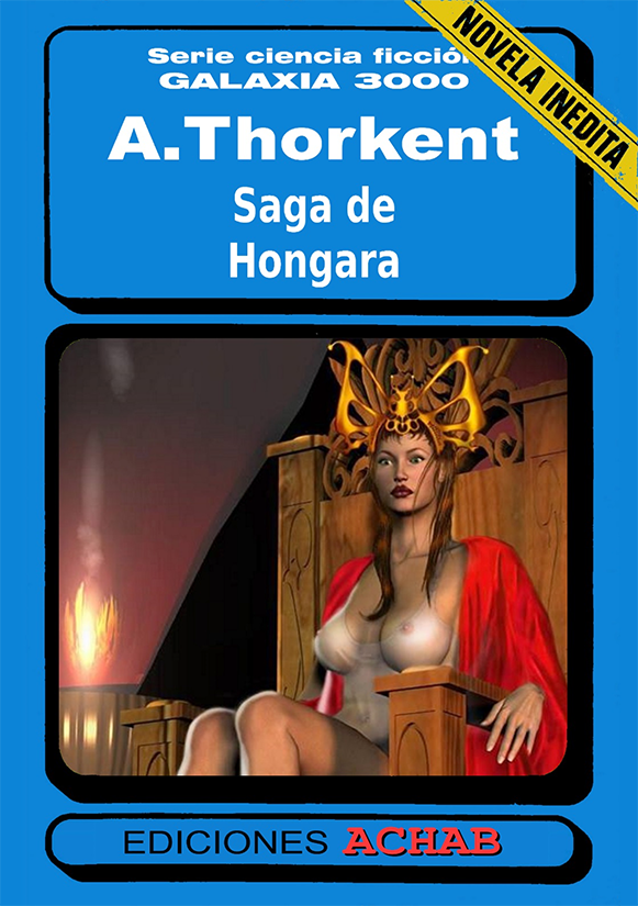 SAGA DE HONGARA - Portada