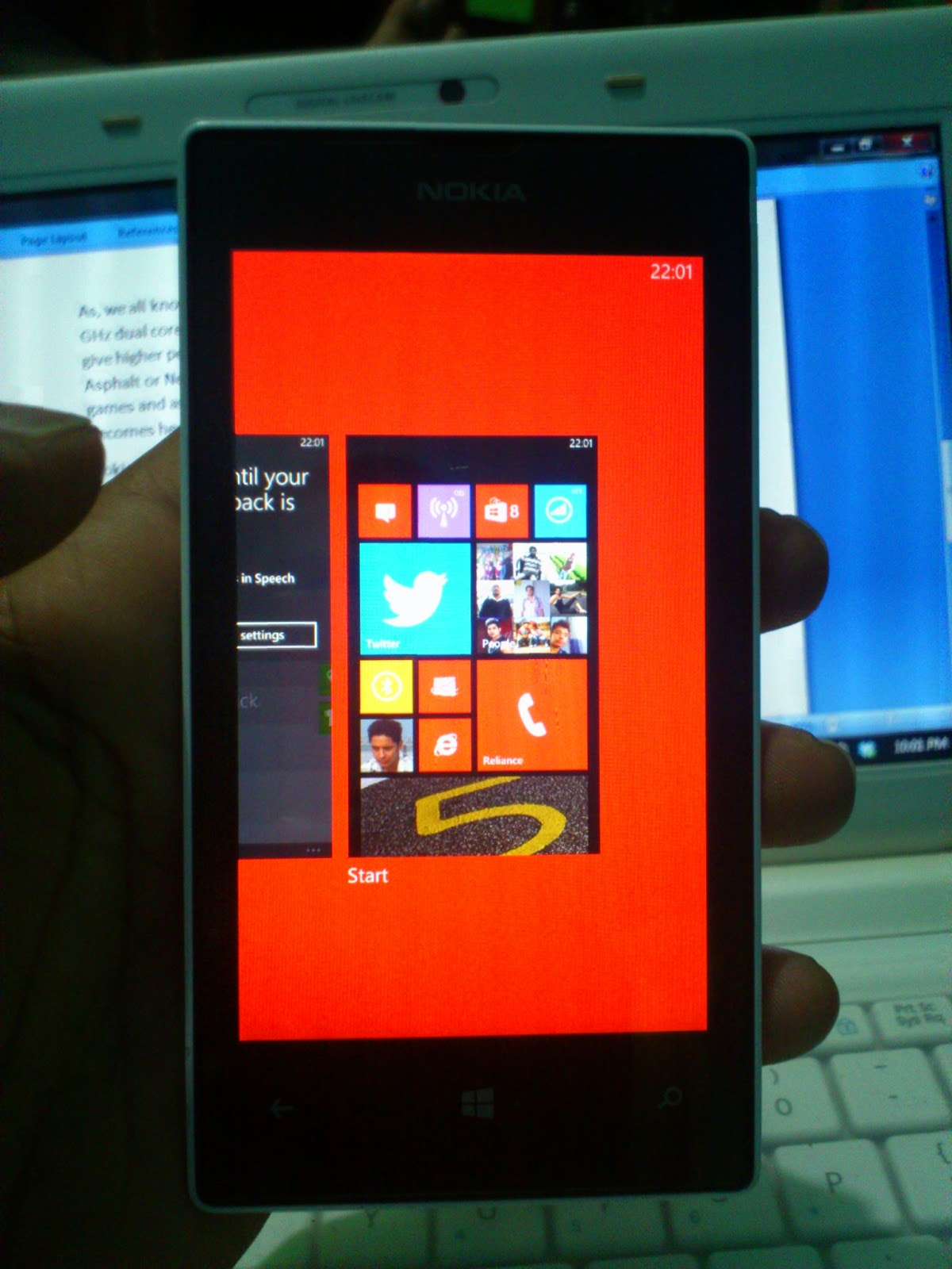 Nokia Lumia 520 MultiTasking