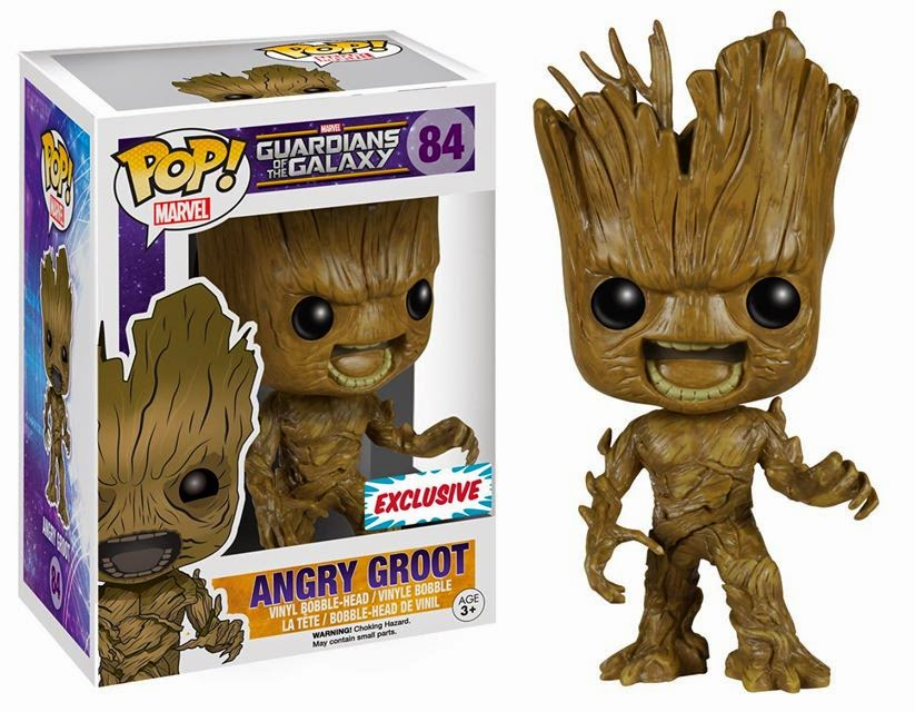 Funko Pop! Angry Groot
