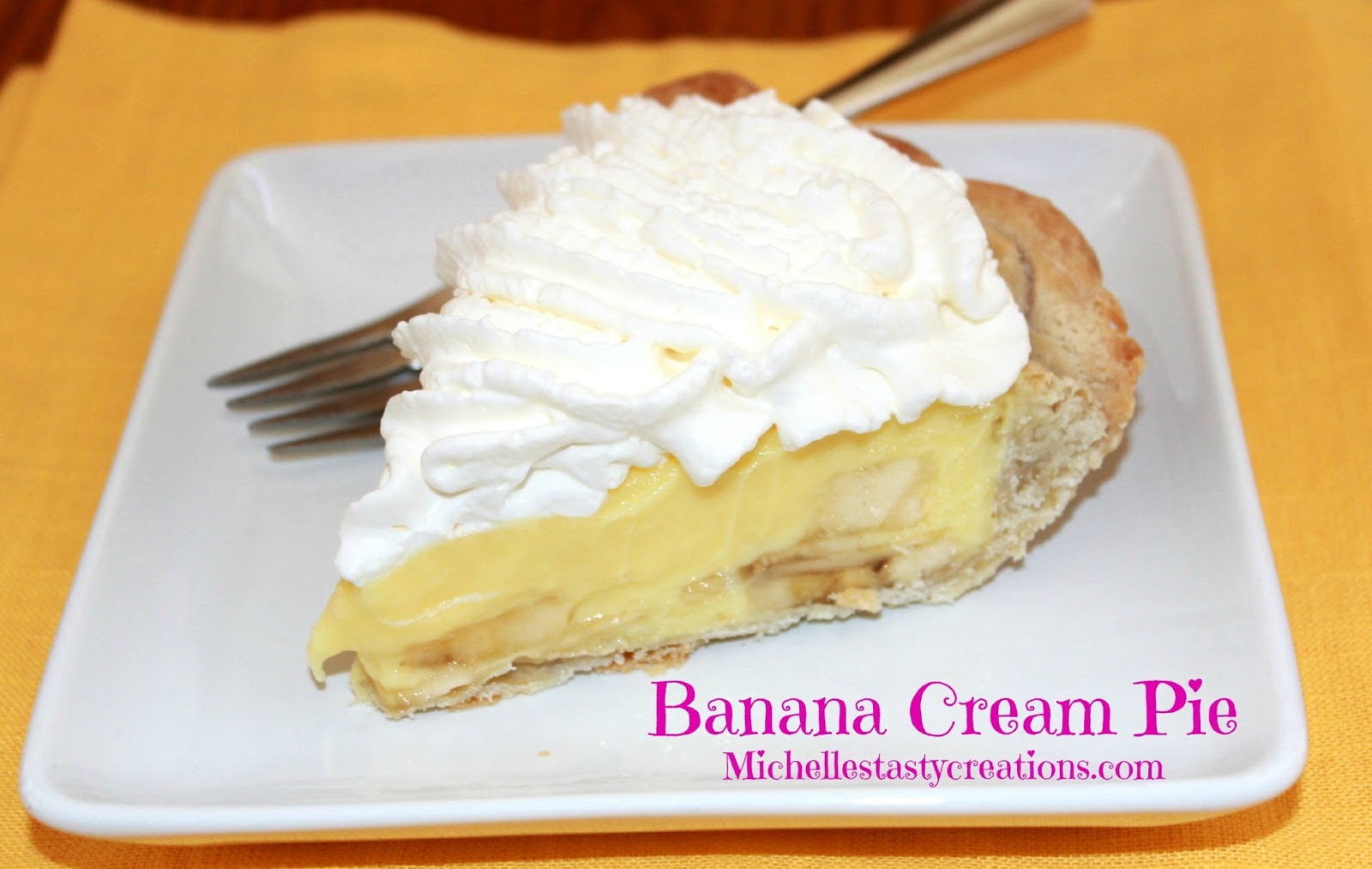 Michelle's Tasty Creations: Banana Cream Pie