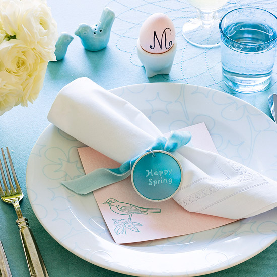 inside the brick house  easy easter centerpieces  u0026 table settings