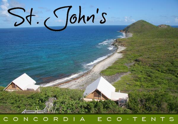 Concordia Eco Tents St. John & Nessy Designs: Concordia Eco Tents St. John