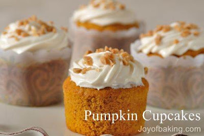 Pumpkin Fall Cupcake