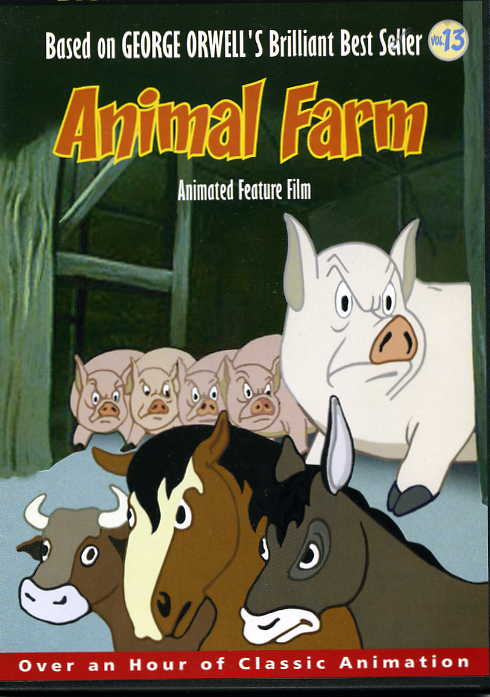 animal farm written by george orwell British author george orwell, in politics and the english language expressed his disdain for tired metaphors and pretentious diction his satire of totalitarianism, animal farm, makes changes to overused cliches, because this political fantasy is set in the animal world to call a character .