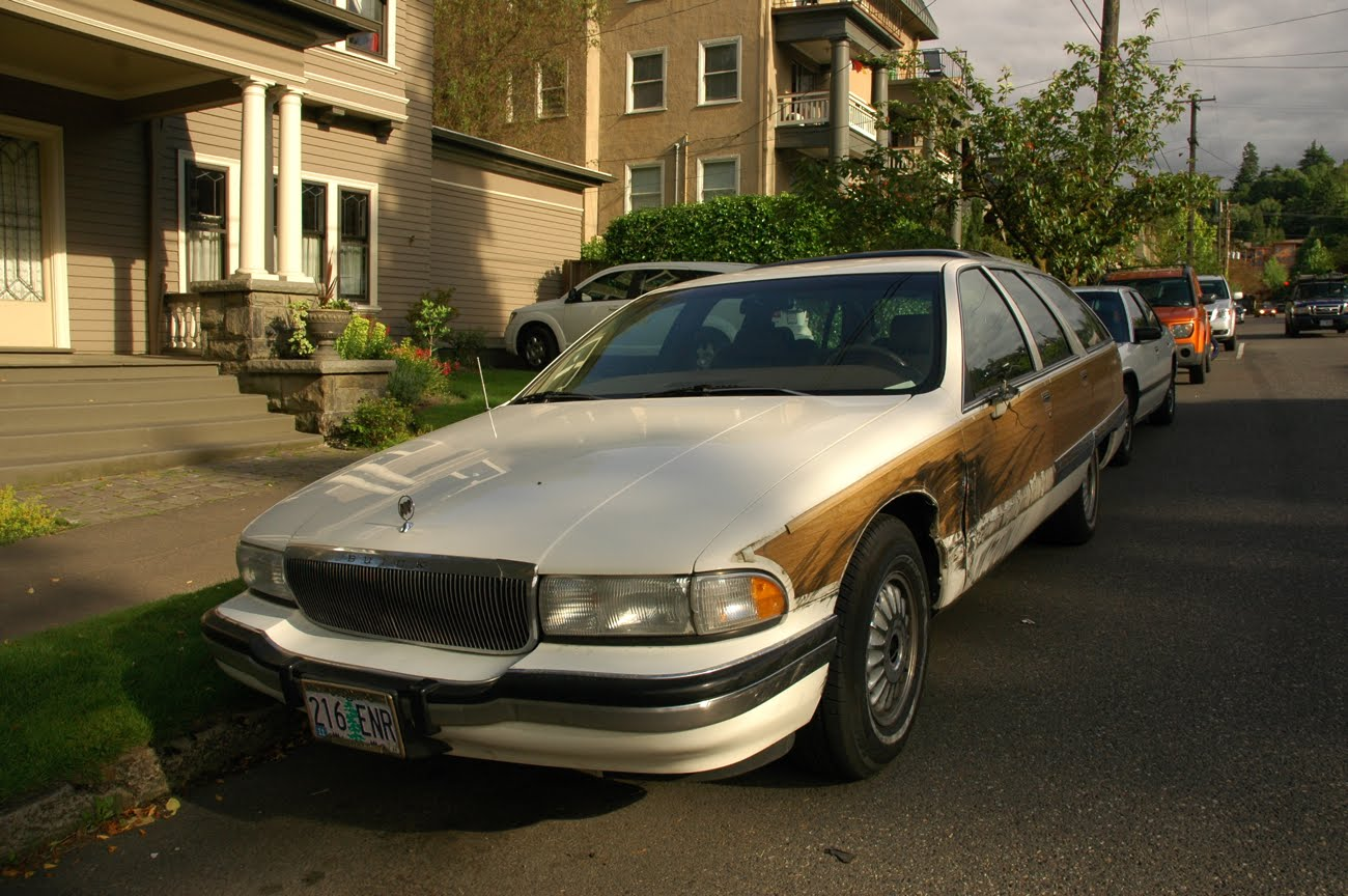 Old Parked Cars Battle Of The Bulge Part 1 1991 Buick