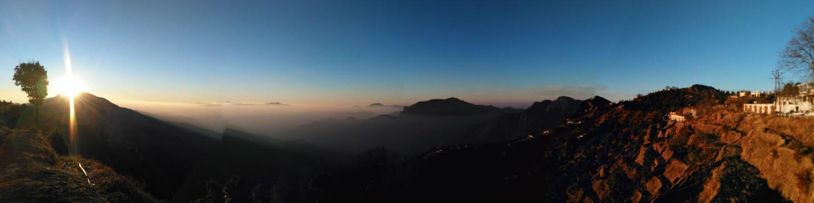 Sunrise @ Kanatal