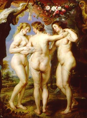 Grandes obras de la pintura y la escultura. - Página 3 RUBENS---LAS-TRES-GRACIAS